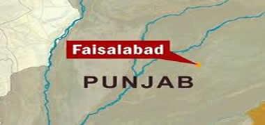 فیصل آباد: مسافر وین کو حادثہ، 20 مسافر زخمی