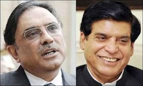 zardari and raja