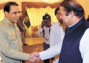 nawaz and army chief