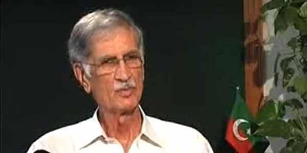 احسن اقبال دستاویزی ثبوت لائیں ورنہ کہانیاں کہیں اور جا کر سنائیں: پرویز خٹک