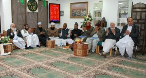دارہ مصباح القرآن برطانیہ کےزیراہتمام مختلف مکاتب فکرسے وابستہ نمائندہ علما ومشائخ کاایک اہم اجلا س