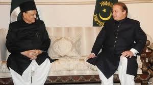 صدر مملکت سے وزیراعظم کی ملاقات