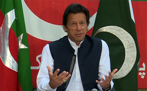 عمران خان نے دھرنے کے لئے پارٹی کارکنوں سے چندہ دینے کی اپیل کردی
