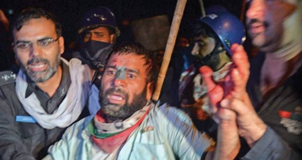 اسلام آباد پولیس کا پی ٹی آئی یوتھ ورکرز کنونشن پر دھاوا' 200 کارکن گرفتار