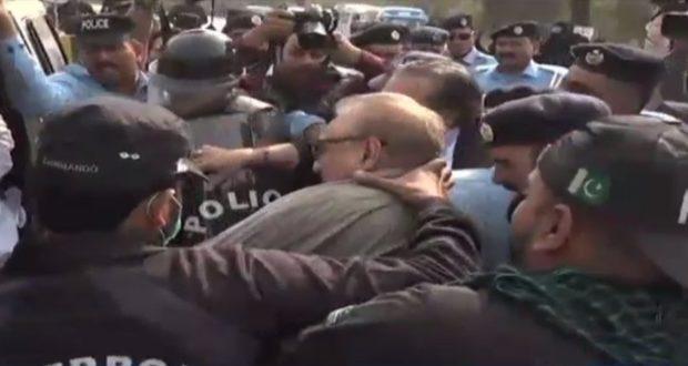 وزیرداخلہ کی ہدایت پر عارف علوی اور عمران اسماعیل کو چھوڑ دیا گیا