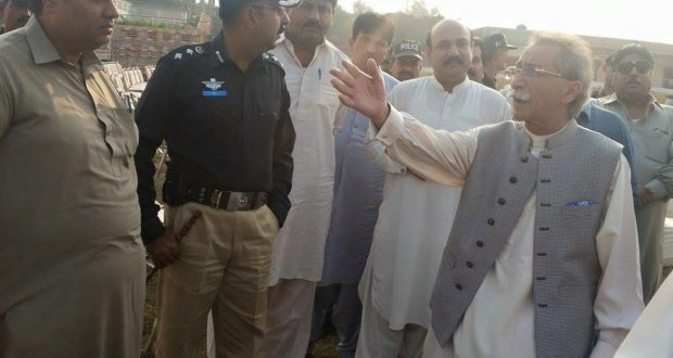 پتوکی:وزیراعظم پاکستان کی پھولنگرآمد،جلسے کے انتظامات مکمل