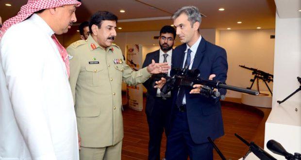 ڈاکٹر خالد محمد العطیہ وزیر دفاع قطر کی زیر قیادت وفد کا پاکستان آرڈننس فیکٹریز کا دورہ