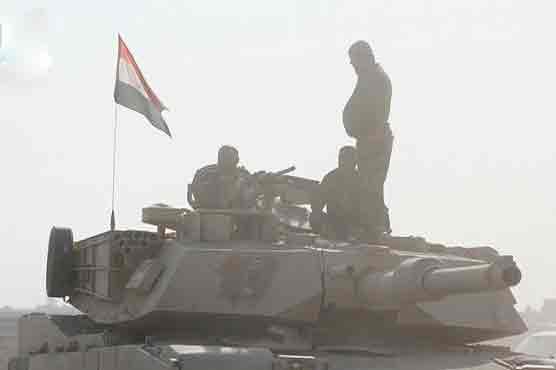 موصل : عراقی فوج نے سرکاری ٹی وی کی عمارت کا کنٹرول سنبھال لیا