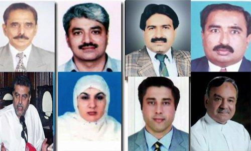 پنجاب کابینہ میں شامل ہونے والے بارہ میں سے گیارہ وزرا نے حلف اٹھالیا