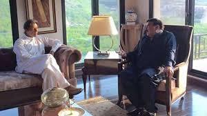 شیخ رشید کی عمران خان سے ملاقات