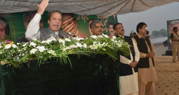 پاکستان کے لوگ ہمارے ساتھ ہیں جو مخالفین کے ایجنڈے کو کبھی پورا نہیں ہونے دیں گے،نوازشریف