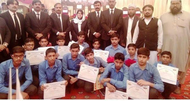 پتوکی:لاہور ہائیکورٹ کی 150 سالہ تقریبات کے سلسلے میں طلبہ و طالبات کاعدالتی کاروائی کا مشاہدہ