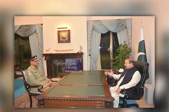 نئے آرمی چیف، چیئرمین جوائنٹ چیفس آف اسٹاف کمیٹی کی وزیر اعظم سے ملاقات