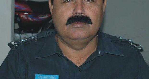 مصطفی آباد:ایس ایچ او تھانہ مصطفی آباد طارق بشیر چیمہ کی انجمن تاجران نے میٹنگ