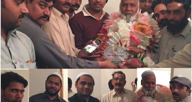 مصطفی آباد:سٹرپتھالوجی ٹیکشن رانا منظور احمد کی ریٹارمنٹ پر پریس کلب مصطفی آباد میں تقریب کا اہتمام