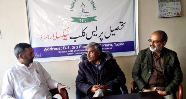 ٹیکسلا:جماعت اسلامی ضلع راولپنڈی کے سیکرٹری اطلاعات میڈیا سیل کے انچارج انعام الحق اعوان کا دورہ ٹیکسلا