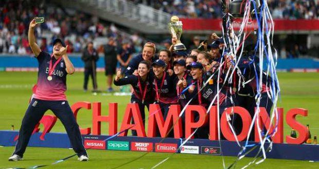 انگلینڈ نےبھارت کو شکست دے کر خواتین کرکٹ ورلڈ کپ جیت لیا