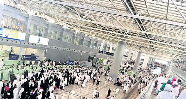 سعودی عرب میں عازمین حج کی آمد کا سلسلہ جاری، 447300 عازمین پہنچ گئے
