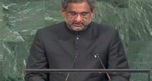 دہشت گردی کے خلاف سب سے بڑی جنگ پاکستان نے لڑی ہے۔ وزیراعظم پاکستان کا جنرل اسمبلی سے خطاب